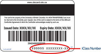 About The UBCcard